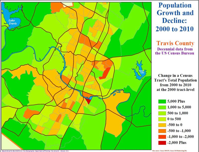 Travis County 2000-2010