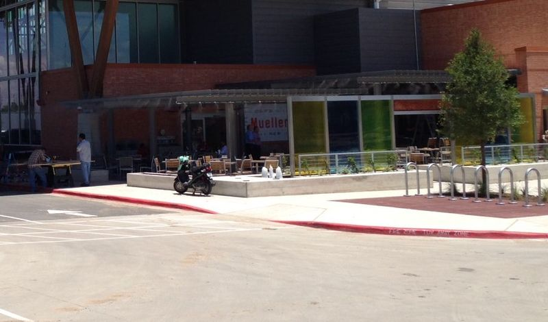 H-E-B patio