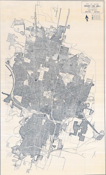 Austin - 1968 Height & Area Map