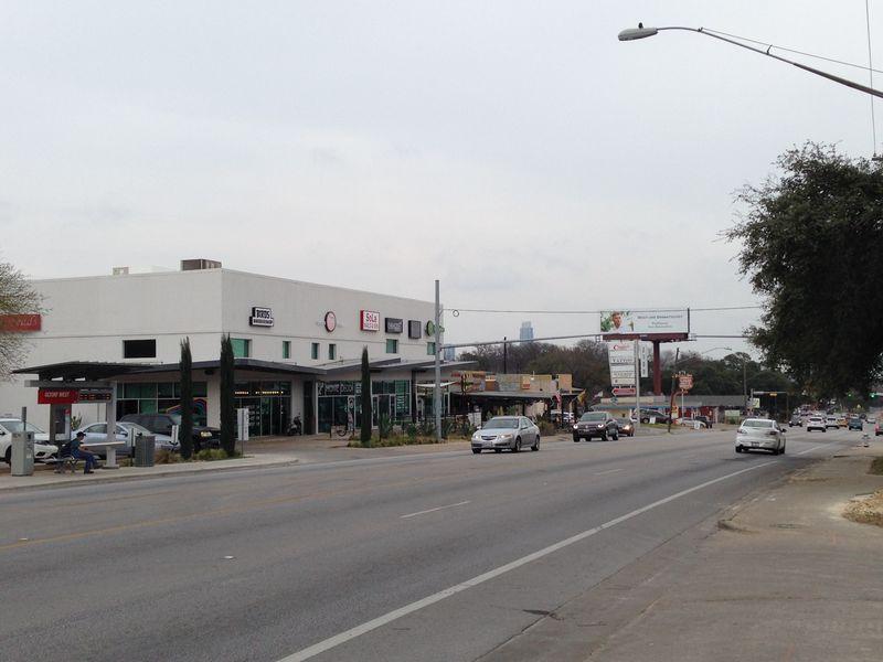 S Lamar Pedestrian beacon